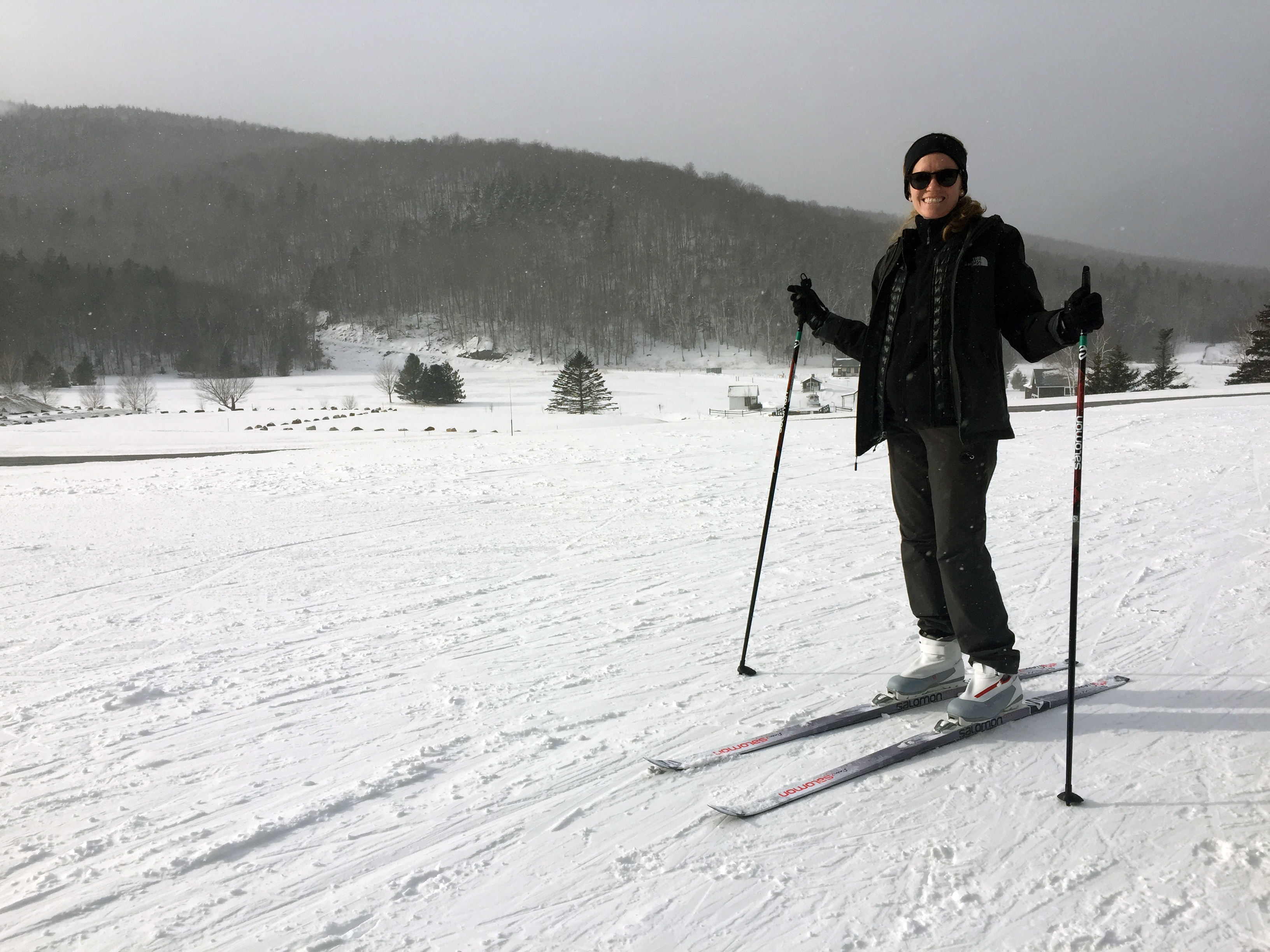 Cross country skiing at Glen
